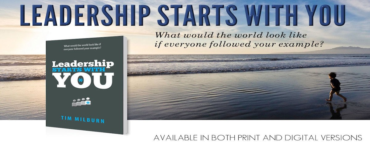 Buy the book - Leadership Starts With You
