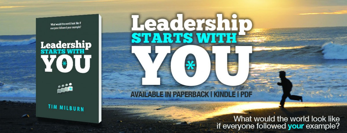 Buy the book: Leadership Starts With You