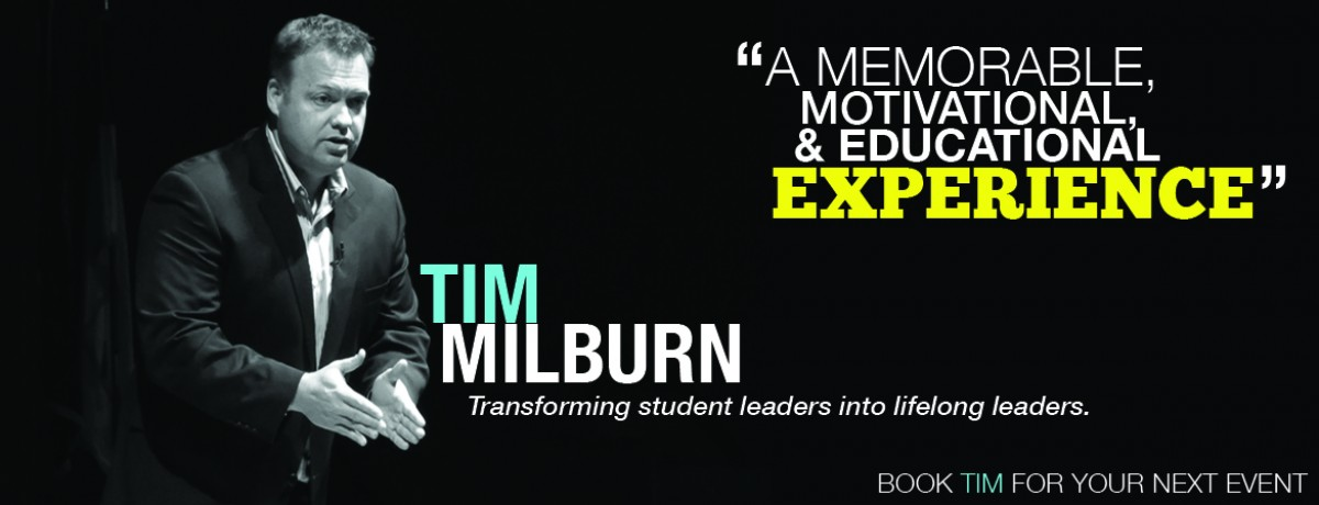 Tim Milburn Speaking